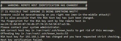 更换系统盘ssh连接不上