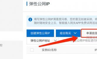 阿里云弹性公网EIP到期删除如何找回原IP地址?