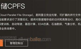 阿里云文件存储CPFS收费价格表(100MB/s/TiB基线和200MB/s/TiB基线)