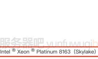阿里云Intel Xeon Platinum 8269和8163处理器CPU区别